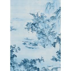 ΦΩΤΟΤΑΠΕΤΣΑΡΙΑ ΤΟΙΧΟΥ KOMAR R2-005 BLUE CHINA 200x280