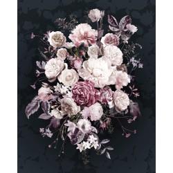 """X4-1018 Φωτοταπετσαρία τοίχου KOMAR """"Bouquet Noir"""" 200X250cm"""